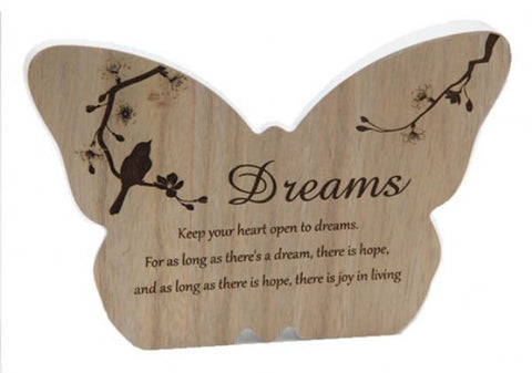 Butterfly Plaque Dreams