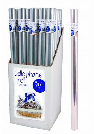Clear Cellophane Roll 5m