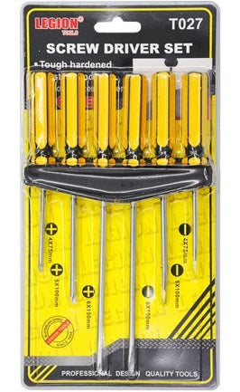 Screw Driver Set 6pk