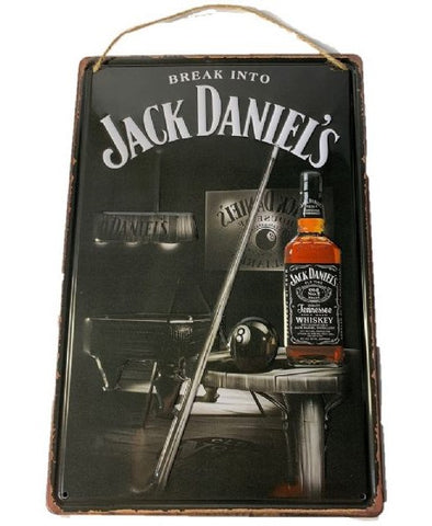 Jack Daniels Raised Metal Wall Art