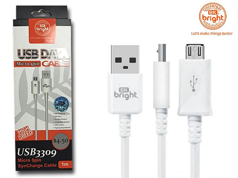 Micro 5 Pin USB Charging Cable