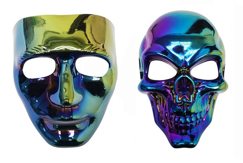 Oil Slick Mask