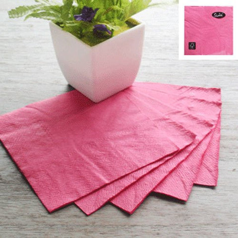 Napkins Hot Pink