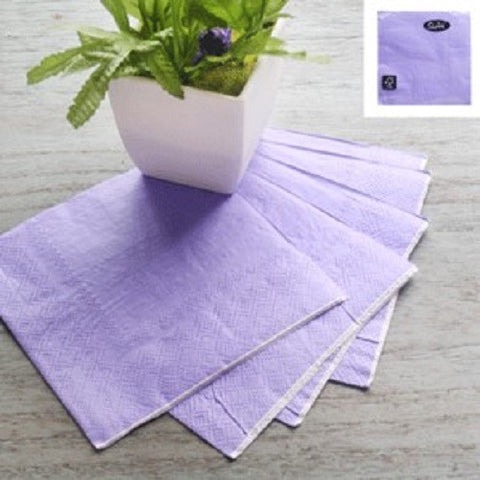 Napkins Purple