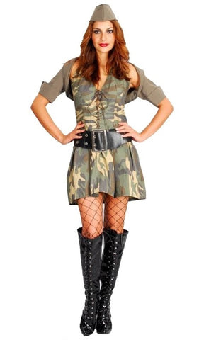Army Girl Deluxe