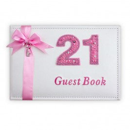 21st Guest Book