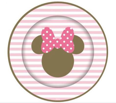 Minnie Mouse Paper Plate 8pk