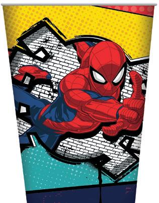 Spiderman Paper Cups 8pk