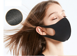Reusable Face Mask Black 1pc