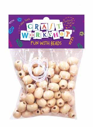Craft Beads Plain Threading 80PC