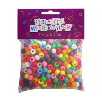 Craft Pony Beads Bright