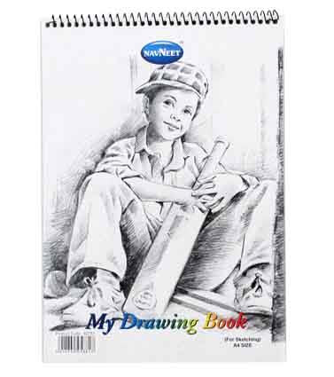 My Drawing Book A4 20 Lvs 100gm2