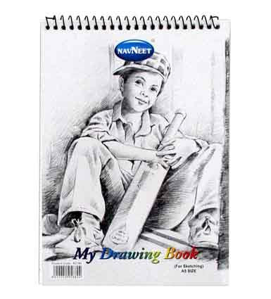 My Drawing Book A5 20 Lvs 100gm2