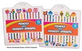 Pencils with Novelty Erasers