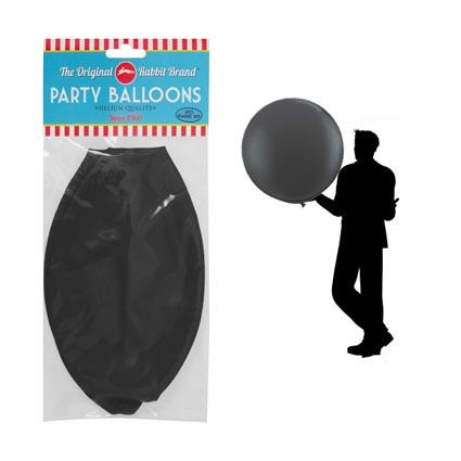 Balloons Black 90cm 1pc