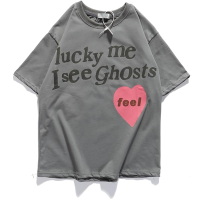 T-shirt lucky me i see ghosts