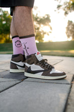 "Load image into Gallery viewer, Travis Scott Socks ""Pink"""