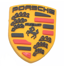 "Load image into Gallery viewer, ""Porsche"" Croc Charm"