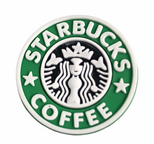 "Load image into Gallery viewer, ""Starbucks"" Croc Charm"