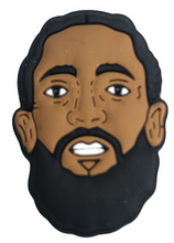 "Load image into Gallery viewer, ""Nipsey"" Croc Charm"