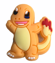 "Load image into Gallery viewer, ""Charmander"" Croc Charm"