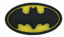 "Load image into Gallery viewer, ""Batman"" Croc Charm"