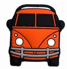 "Load image into Gallery viewer, ""Orange Bus"" Croc Charm"
