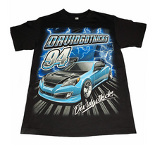 "Load image into Gallery viewer, Genesis Coupe ""Nascar"" T shirt"