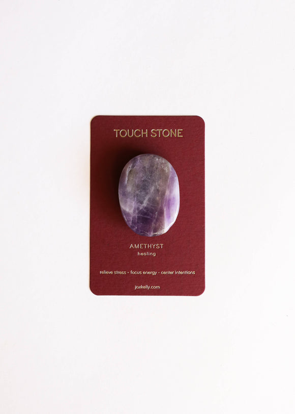 Amethyst Touch Stone