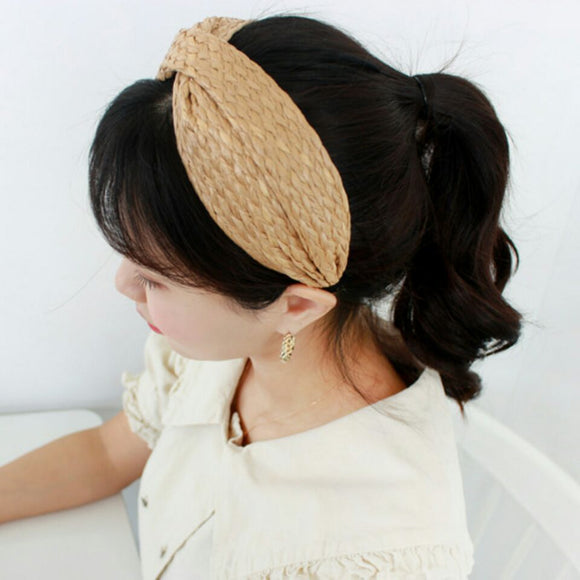 Straw Hairband
