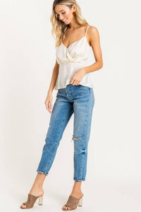 Surplice Cami Top