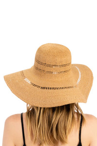Braided Floppy Sun Hat