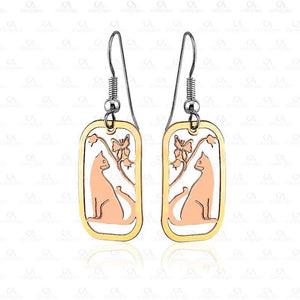 Gold Color Designs Earrings