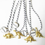 The Trendy Tot - Dinosaur Rawr Necklace