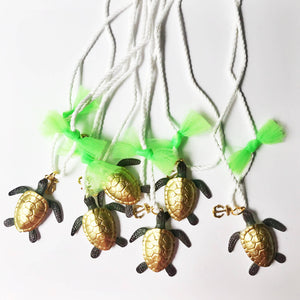 The Trendy Tot - Sea Turtle Necklace