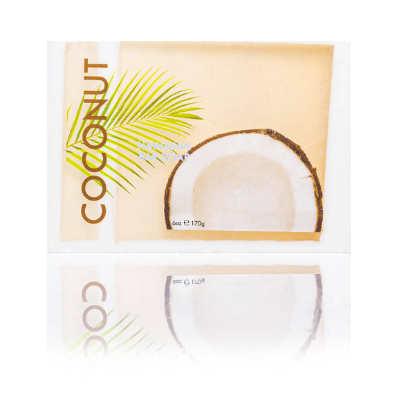 Coconut Bar Soap with Kukui & Coconut Oil 6oz