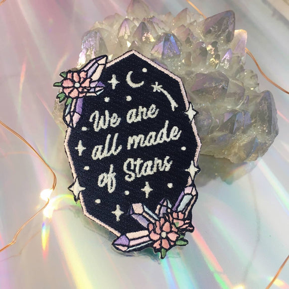We are all Made of Stars Patch - Glow in the Dark!