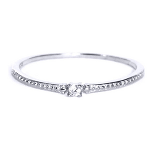 Solid Silver Ring - Naomi