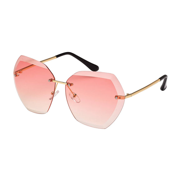 17271 - JADE - GOLD / GRADIENT ROSE LENS