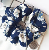Scrunches Hair Tie - Flower with Charm