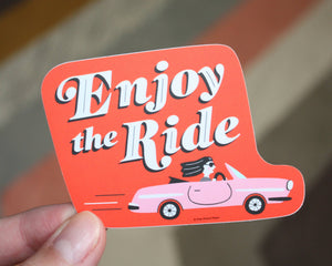Enjoy the Ride Vinyl Sticker