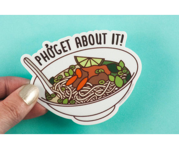 Pho Soup Vinyl Sticker