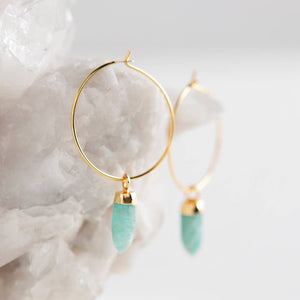 Amazonite Berklee Earrings