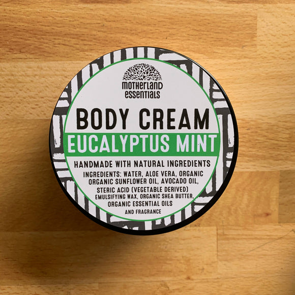Eucalyptus Mint Body Cream