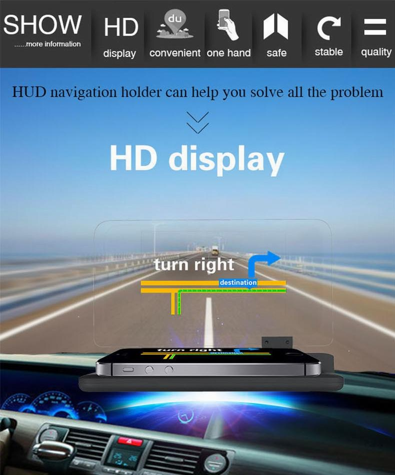 Mobile Car Head Up Display