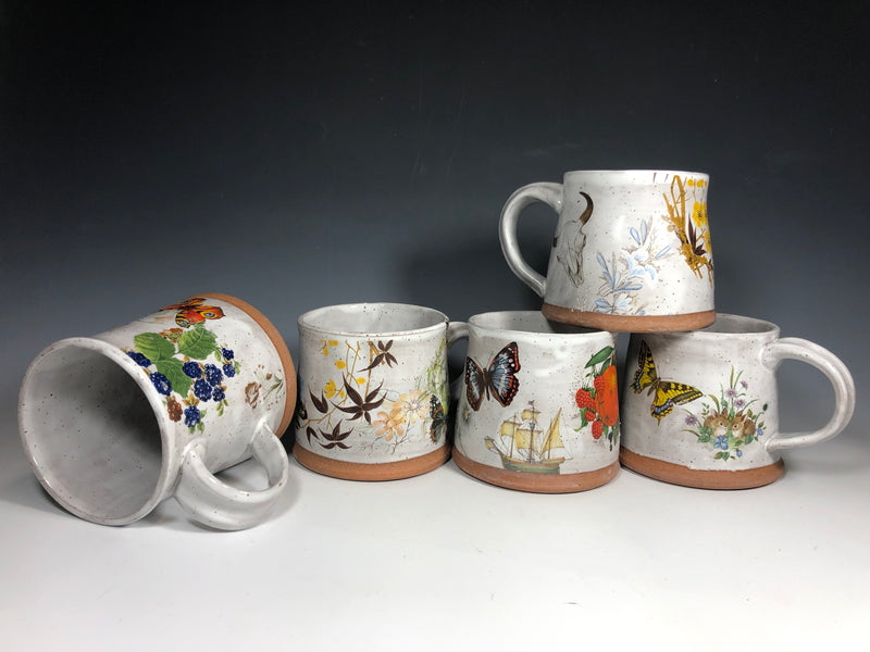 My Vintage Inspired Mugs