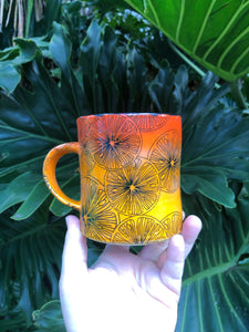 Blood Orange Ceramic Mug