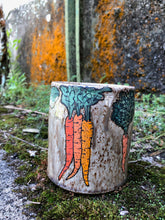 Load image into Gallery viewer, Root Vegetable Illustrated Mug 3 // Garden Collection