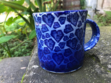 Load image into Gallery viewer, Blue Heart Ceramic Mug
