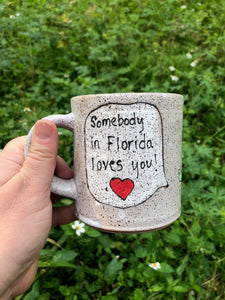 Somebody in Florida Loves You Mug 1